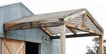 Barn Home Living / Scrap book for ideas to implement into a home barn design