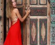 170,00 $ Video Red Dress by goafreedom.com and Maria Lerner / Limited edition collection hand made dress