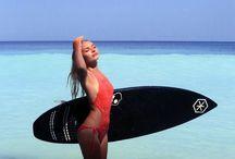 Surfgirl in luxury monokini by goafreedom.com