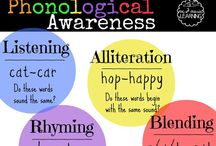 Phonological Awareness / Sounds, words, rhymes and more. Activities to reinforce the best predictor of reading success