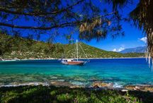 Travel by Captain Ergun / Here at Boat Trip Turkey, we specialize in offering guests the opportunity to discover the delights of Turkey's Turquoise Coast, one of the world's most majestic shorelines. Join Captain Ergun & Merve on an unforgettable tour around the waters surrounding Kas, Kalkan, Kekova.