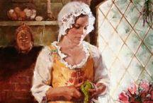 ART ~ MEADOW GIST amerikai festő,illusztrátor