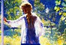 Art~ Daniel GARBER (1880-1958) Amerikai művész