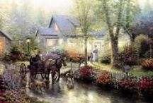 ART~ THOMAS KINKADE