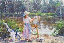ART ~ Barbara Jaskiewicz-lengyel impresszionista festő