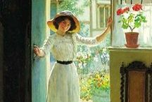 ART ~ William Henry Margetson  British painter (1861-1940)