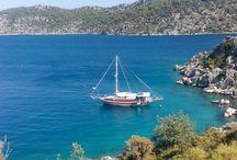 Gulet Evita / Daily or overnight Exclusive boat tours in Kas , Kekova , Kalkan and Kastellorizo.