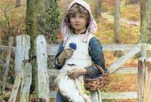 ART ~ HENRY JAMES JOHNSTONE British (1835-1907)