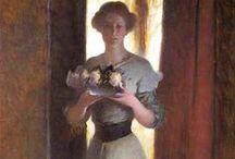 John White Alexander (1856-1915) American artist