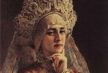 ART ~ KONSTANTIN  EGOROVICH  MAKOVSKY (1839-1915) Russian painter