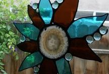Stained Glass Creations / Stained glass suncatchers and anything stained glass for home and garden yard art decor.