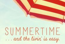 Summertime! / We live at the beach...we love to take full advantage of summertime!