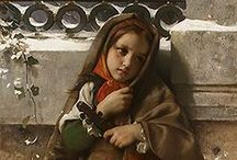 ART ~ Leon Jean Bazile Perrault (1832-1908) Francia művész