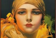 ART ~ Rolf  Armstrong (1899) American painter