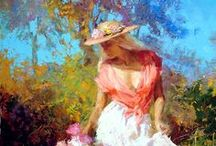 Art ~Eric Wallis ~ American painter
