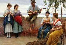 Art ~ Eugene de Blaas, Olasz festő