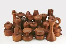 Jens Quiestgaard/Wood & metal items / Wiodden items design by Jens Quistgaarf