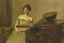 ART ~ Thomas Wilmer Dewing (1851-1938)