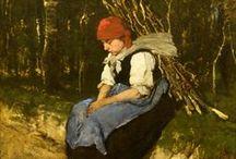 ART ~ Munkácsy Mihály (1844-1900) magyar festő