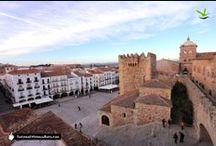 Cáceres y Trujillo / Cáceres, Patrimonio de la Humanidad y la imponente Trujillo atesoran 2 magníficos conjuntos monumentales de época medieval y renacentista principalmente, que han hecho de ellas 2 destinos imprescindibles
