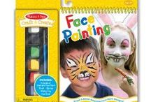 Face Paint / We Love Face Painting (Products from Melissa&Doug and Snazaroo)