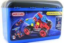 Construction Toys / Meccano and K'nex