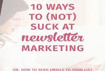 Newsletter / Wie funktioniert Newsletter Marketing? Wie sehen tolle Newsletter aus? Wie kann man Öffnungs- und Klickrate verbessern? Infos hier.