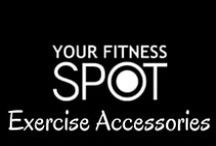 Exercise Accessories / These exercise accessories will help you perform your best while working out!