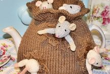 CROCHET and KNITTING. / A collection of ideas...