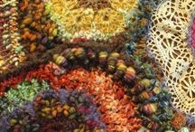 Freeform CROCHET and KNITTING . / Crochet and Knitting SET FREE!....