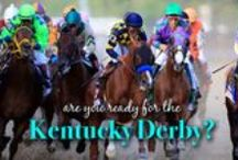 """Kentucky Derby / Often called """"The Most Exciting Two Minutes in Sports"""", based on the approximate length of time it takes the winner to run from the starting gate to the finish line. But the Kentucky Derby race isn't just the only thing worth watching! Embrace the tradition and throw a derby watching party in one of our stunning dresses and admire the fashions and crazy hats at the event. Mint Julep anyone?"""