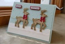 2016 SU Holiday Catalog / Fun and inspiring projects created with items from the 2016 Stampin' Up! Holiday Catalog.  Carol Lovenstein  www.pinkstampagne.com