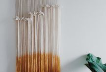 Tapestry Inspiration / With just a little yarn and a good eye, you can make beautiful tapestry for your wall