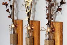 Wondrous Woodworking / Home decor and crafts that involve simple woodworking or the use of wood
