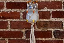 Macrame Moods / Finding projects that use macrame and different designs to create unique products
