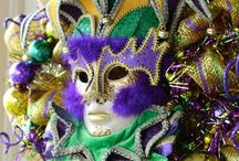 Mardi Gras Crafts / As a New Orleans based company, nothing said artistry and crafts quite like Mardi Gras. Check out some unique ways to make traditional pieces