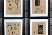 Kitchen Crafts / Simple, easy, and fun ways to spruce up your kitchen!