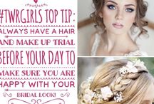 TWRgirls Top Tip Thursday! / We love nothing more than sharing our knowledge of all things wedding with our brides! Here on Pinterest we get to share it with everyone!!!
