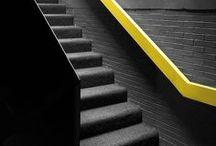 Autour de l'escalier