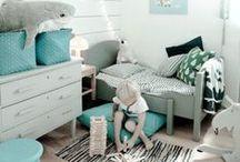 Autour des chambres bébés, enfants...