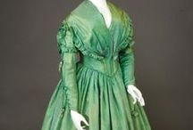 Pre & Early Victorian / Fashions from the years leading up to Queen Victoria's ascension and the early years of her reign