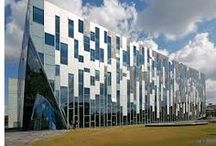 Utrecht Uithof / The Uithof is the Science Parc of Utrecht, with a lot of architectural icons.
