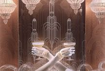 Art Deco Wedding / Images to inspire an Art Deco wedding. The Jazz Age: the roaring twenties, the glamorous thirties... Geometric designs and an opulent color palette.