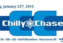 Vancouver Chilly Chase / 5K, 10K, 15K & Half