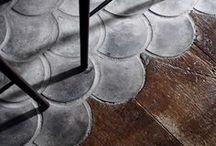 Autour des carreaux de ciment, carrelage
