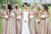 Blissful Bridal Party / Bridal Party fashion!