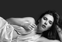 Scarlett Johansson / Scarlett Johansson is considered one of Hollywood's modern sex symbols, and has frequently appeared in published lists of the sexiest women in the world.