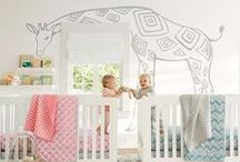 NURSERY THINGS // / They may not fit a theme or particular style, but they are so cute for any nursery or kids room.