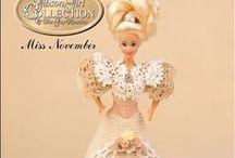 vestiti Barbie uncinetto / by fata angelo