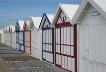 Esprit MER - Cabines de plage / Vive les vacances!